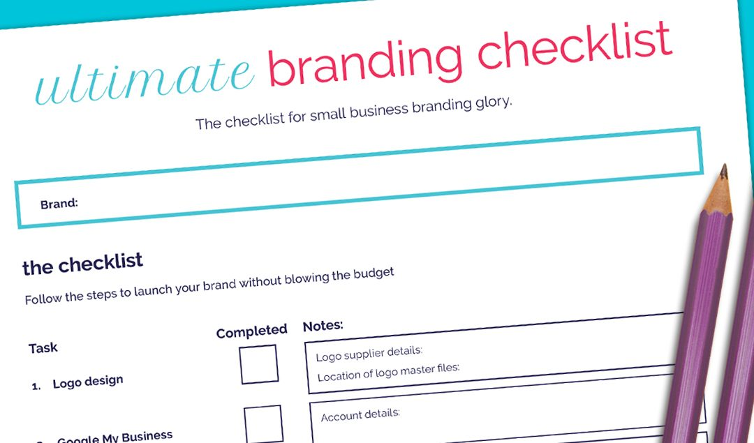 Free Download – Ultimate Branding Checklist