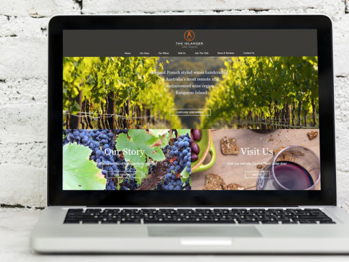 Islander Estate website design