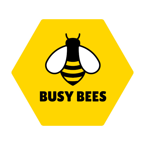 Busy Bees Landscaping logo design