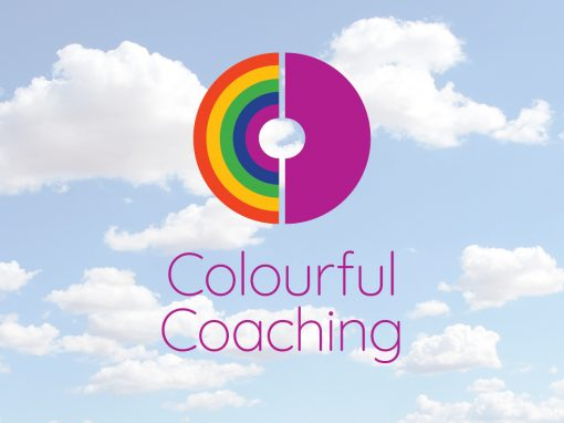 Colourful Coaching logo & website design
